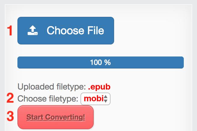epub to mobi online converter free